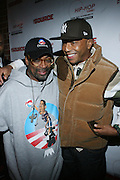 """l to r: Spike Lee and Russell Simmons at The Russell Simmons and Spike Lee  co-hosted""""I AM C.H.A.N.G.E!"""" Get out the Vote Party presented by The Source Magazine and The HipHop Summit Action Network held at Home on October 30, 2008 in New York City"""