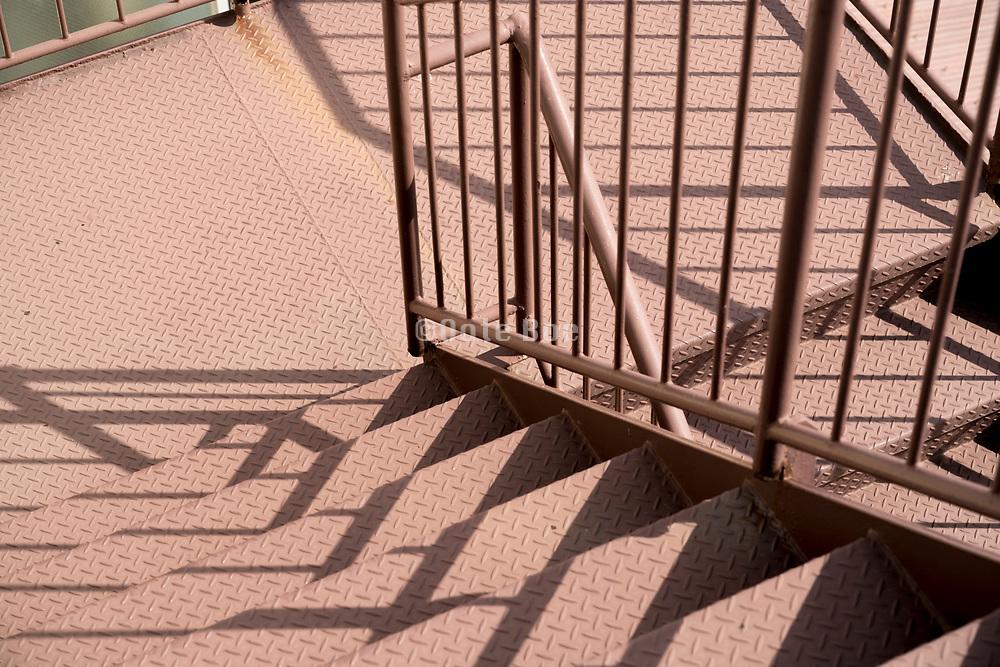 metal emergency stairs