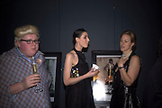 SAMI KNIGHT, ERIN O'CONNOR AND JACQUELINE ALLEN, Unveiling of the Vivienne Westwood Opus. Hosted by Vivienne Westwood and Karl Fowler of Kraken Opus. Serpentine Gallery. London. 12 February 2008.  *** Local Caption *** -DO NOT ARCHIVE-© Copyright Photograph by Dafydd Jones. 248 Clapham Rd. London SW9 0PZ. Tel 0207 820 0771. www.dafjones.com.