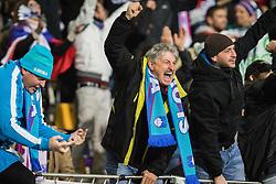 Fans during the UEFA EURO 2016 Play-off for Final Tournament, Second leg between Slovenia and Ukraine, on November 17, 2015 in Stadium Ljudski vrt, Maribor, Slovenia. Photo by Ziga Zupan / Sportida