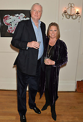BEDDOW and VISCOUNTESS GORMANSTON at a party to celebrate the publication on 'The Ape Has Stabbed Me' by Vincent Poklewski Koziell held at The Polish Club, 55 Exhibition Road, London on 1st May 2014.