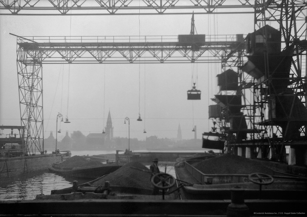 Cranes, Lots Road Power Station, England, 1931