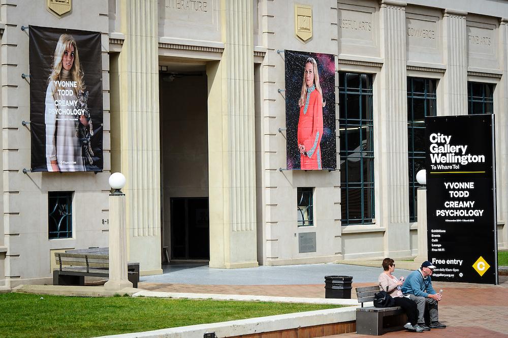 WELLINGTON, NEW ZEALAND - December 03:  Westpac Board Cocktail Function December 03, 2014 in Wellington, New Zealand.  City Gallery.  (Photo by Mark Tantrum/ mark tantrum.com)