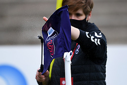 Barclays Womens Super Legaue Corner Flag is sanitised prior to kick off - Mandatory by-line: Ryan Hiscott/JMP - 18/10/2020 - FOOTBALL - Twerton Park - Bath, England - Bristol City Women v Birmingham City Women - Barclays FA Women's Super League