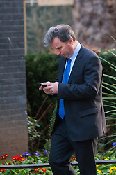 London, February 24th 2015. Ministers arrive at the weekly cabinet meeting at 10 Downing Street. PICTURED: Minister for Government Policy Oliver Letwin