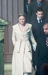 Stella McCartney at the christening of Madonna's baby Rocco at Dornoch Cathedral in Scotland on the night of 12th December 2000.