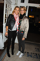 Left to right, sisters LADY KINVARA BALFOUR and LADY CANDIDA BALFOUR at the Grand Classics screening of the film 'Don't Look Now' sponsored by Motorola held at The Electric Cinema, 181 Portobello Road, London W11 on 24th September 2007. <br />