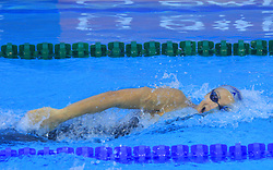 Nina Sovinek of Slovenia swims during women`s 200m Freestyle heats race during the day 4 of LEN European Short Course Swimming Championships Rijeka 2008, on December 14, 2008,  in Kantrida pool, Rijeka, Croatia. (Photo by Vid Ponikvar / Sportida)