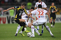 Fotball<br /> Frankrike<br /> Foto: Dppi/Digitalsport<br /> NORWAY ONLY<br /> <br /> FOOTBALL - FRENCH CHAMPIONSHIP 2007/2008 - L1 - OLYMPIQUE LYON v LILLE OSC - 23/08/2007 -  KEVIN MIRALLAS (LILLE)