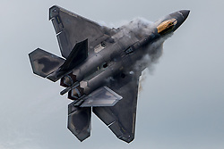 July 4, 2018 - London, England, United Kingdom - F-22 Fighter at Royal International Air Tattoo. (Credit Image: © SIPA Asia via ZUMA Wire)
