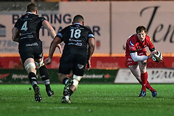 Scarlets' Rhys Patchell in action during todays match - Mandatory by-line: Craig Thomas/Replay images - 26/12/2017 - RUGBY - Parc y Scarlets - Llanelli, Wales - Scarlets v Ospreys - Guinness Pro 14