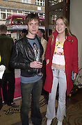 Bee Carr and Eva Rice. Shanghai Tang opening. Sloane St. 11 April 2001. © Copyright Photograph by Dafydd Jones 66 Stockwell Park Rd. London SW9 0DA Tel 020 7733 0108 www.dafjones.com