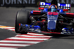 May 25, 2017 - Monaco, Monaco - 55 SAINZ Carlos from Spain of Toro Rosso STR12 team Toro Rosso during the Monaco Grand Prix of the FIA Formula 1 championship, at Monaco on 25th of 2017. (Credit Image: © Xavier Bonilla/NurPhoto via ZUMA Press)