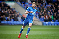 Peterborough Utd forward Matthew Godden (9) during the EFL Sky Bet League 1 match between Peterborough United and Wycombe Wanderers at London Road, Peterborough, England on 2 March 2019.