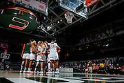 2017 Miami Hurricanes Women's Basketball vs Maine