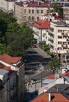 09.05.2012 Bialystok Ulica Legionowa widziana z dachu Urzedu Miejskiego fot Michal Kosc / AGENCJA WSCHOD