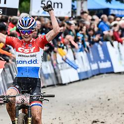 20-05-2018: Wielrennen: WC MTB: Albstadt<br /> Anne Tauber (Ned) CST Sandd American Eagle MTB Racing Team