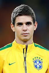 Oscar, meia da Seleção Brasileira de Futebol. FOTO: Jefferson Bernardes/ Agência Preview