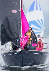 Pelle P Kip Regatta 2017 run by Royal Western Yacht Club at Kip Marina on the Clyde. <br /> <br /> GBR8272T, Satisfaction, Nicholas Marshall, St Mary's Loch SC, J 92<br /> <br /> Image Credit Marc Turner