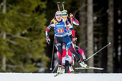 Eva Puskarcikova (CZE) during Single Mixed Relay at day 1 of IBU Biathlon World Cup 2018/19 Pokljuka, on December 2, 2018 in Rudno polje, Pokljuka, Pokljuka, Slovenia. Photo by Ziga Zupan / Sportida