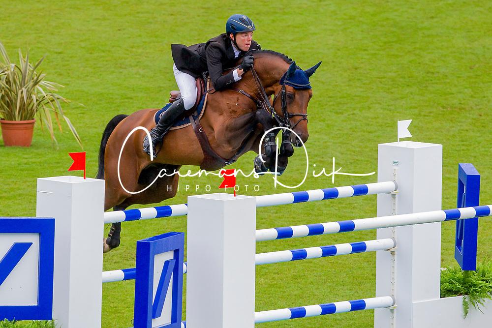 Kreuzer Andreas (GER) - Chacco Blue<br /> World Equestrian Festival, CHIO Aachen 2011<br /> © Hippo Foto - Leanjo de Koster