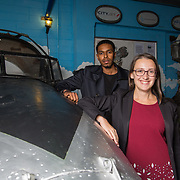13.09.17.            <br /> Aviation Finance Finuas Network, Introduction To Aviation Leasing, Air Ventures, Shannon. Pictured are, Mohamed Nabiel, SMBC Aviation Capital and Diana Galeriu, SMBC Aviation Capital. Picture: Alan Place