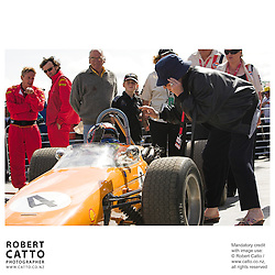 Pat McLaren at the A1 Grand Prix of New Zealand at the Taupo Motorsport Park, Taupo, New Zealand.