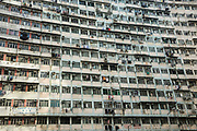 Public housing built in the 1960s stands in Quarry Bay, Hong Kong SAR on March 29th, 2019. Photo by Suzanne Lee/PANOS for Los Angeles Times
