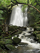 View of Matai Falls, Catlins, Southland, New Zealand; October 2012