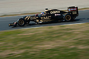 February 19-22, 2015: Formula 1 Pre-season testing Barcelona : Joylon Palmer, Lotus F1