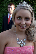 Claudia Gilchrist, 16,  is attending a traditional style prom with her boyfriend Steve Drake. A lot of effort is put into looking right for the night. Dresses have been planned all year and boyfriends are expected to wear matching ties. <br /> In recent years American style prom nights to celebrate graduation from high School have been gaining popularity in the UK.