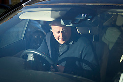 © Licensed to London News Pictures. 22/04/2021. London, UK. Former British Prime Minister DAVID CAMERON is seen driving outside his London home. Cameron has come under scrutiny following reports he lobbied Ministers for the now collapsed finance firm Greensill Capital. Photo credit: Ben Cawthra/LNP