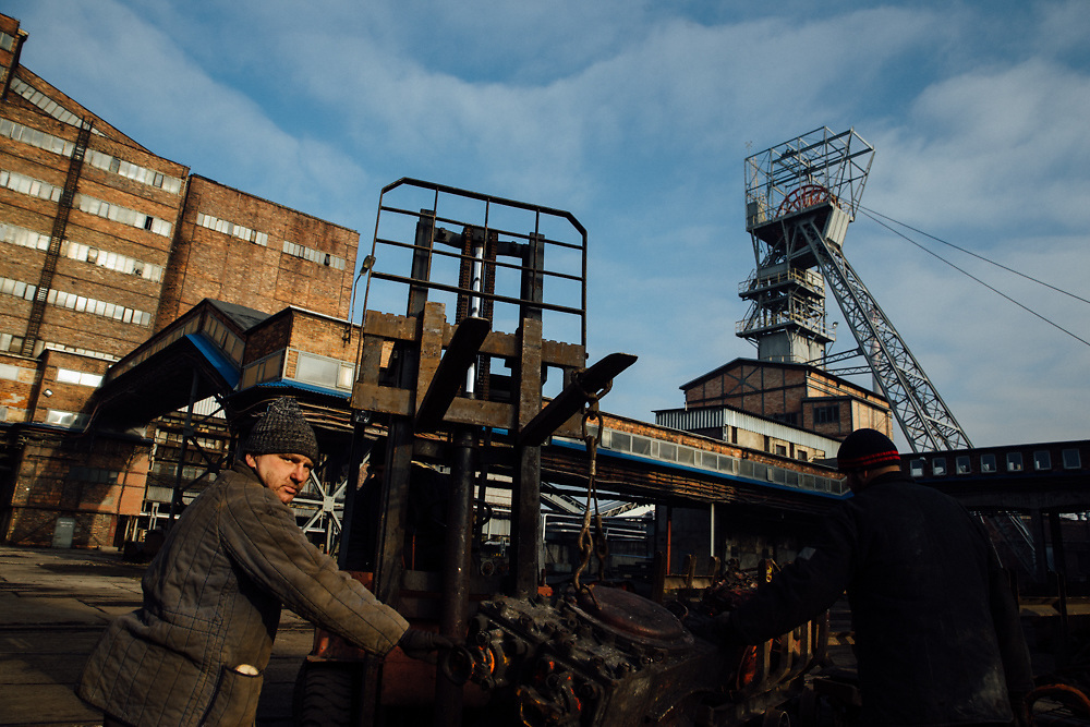 Zabrze. 30.12.2016 Ostatni dzien fedrowania w kopalnii KWK Makoszowy. Fot: Krystian Maj/FORUM