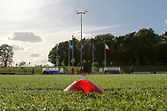 Side view of the countries flags during the UEFA European Under 17 Championship 2018 match between Israel and Italy at St George's Park National Football Centre, Burton-Upon-Trent, United Kingdom on 10 May 2018. Picture by Mick Haynes.