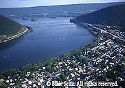 PA Landscapes, Southcentral Pennsylvania, Aerial Photographs, Susquehanna River, Duncannon, PA