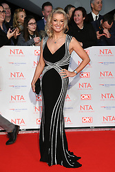 Gillian Taylforth attending the National Television Awards 2018 held at the O2, London. Photo credit should read: Doug Peters/EMPICS Entertainment