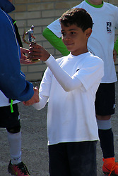 EXCLUSIVE: Georgina Rodriguez and Dolores Aveiro support Cristiano Ronaldo Jr. in his last football match where he was named as highest scorer of the school league. 15 Apr 2018 Pictured: Cristiano Junior. Photo credit: MEGA TheMegaAgency.com +1 888 505 6342