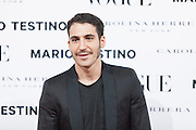Miguel Angel Silvestre at Vogue December Issue Mario Testino Party