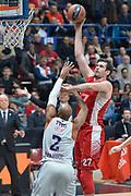 Milano 26 Novembre 2015<br /> Eurolega Basket<br /> EA7 ARMANI MILANO Vs Efes Istanbul<br /> Nella Foto Stanko Barac Tiro Olimpia EA7 Emporio Armani Milano<br /> Foto Ciamillo<br /> Provvisorio