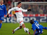 v.l. Kevin Kuranyi Stuttgart, GEREMI<br /> Fu§ball Champions League VfB Stuttgart - FC Chelsea