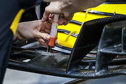 July 28, 2018 - Budapest, Hungary - Motorsports: FIA Formula One World Championship 2018, Grand Prix of Hungary, .Technical detail  (Credit Image: © Hoch Zwei via ZUMA Wire)
