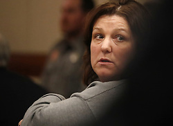 Jayme Closs' aunt Kelly Engelhardt attends the first court appearance of Jake Patterson in court with Judge James C. Babler presiding at the Barron County Circuit Court Monday, January 14, 2019 in Barron, WI, USA. Photo by Richard Tsong-Taatarii/Minneapolis Star Tribune/TNS/ABACAPRESS.COM