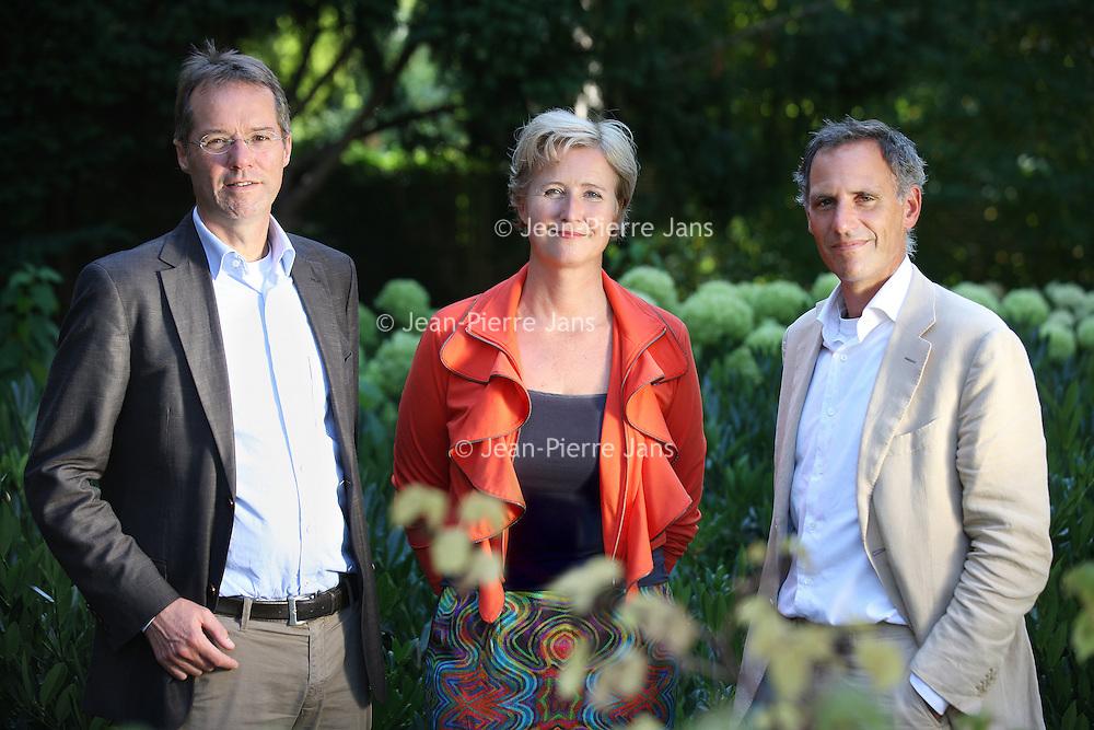 Nederland, Amsterdam , 5 september 2013.<br /> Raad van Bestuur van GGZinGeest v.l.n.r.<br />  Aartjan Beekman,Thijs Stoop, Elsbeth de Ruijter<br /> <br /> Foto:Jean-Pierre Jans
