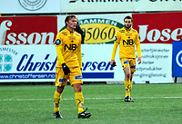 Fotball Herrer Tippeligaen 03.10.2009<br /> Gamle Gress Marienlyst Stadion<br /> <br /> Strømsgodset - Bodø Glimt<br /> <br /> Resultat 3 - 0<br /> <br /> Foto: Robert Christensen Digitalsport<br /> <br /> Bodø Glimt Mounir Hamoud depper etter tap