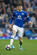 Ross Barkley of Everton during the English Premier League match at Goodison Park Stadium, Liverpool. Picture date: April 9th 2017. Pic credit should read: Simon Bellis/Sportimage