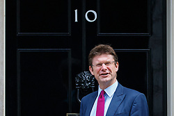 © Licensed to London News Pictures. 18/07/2016. London, UK. Business, Energy and Industrial Strategy Secretary GREG CLARK arriving at Downing Street on Monday, 18 July 2016. Photo credit: Tolga Akmen/LNP