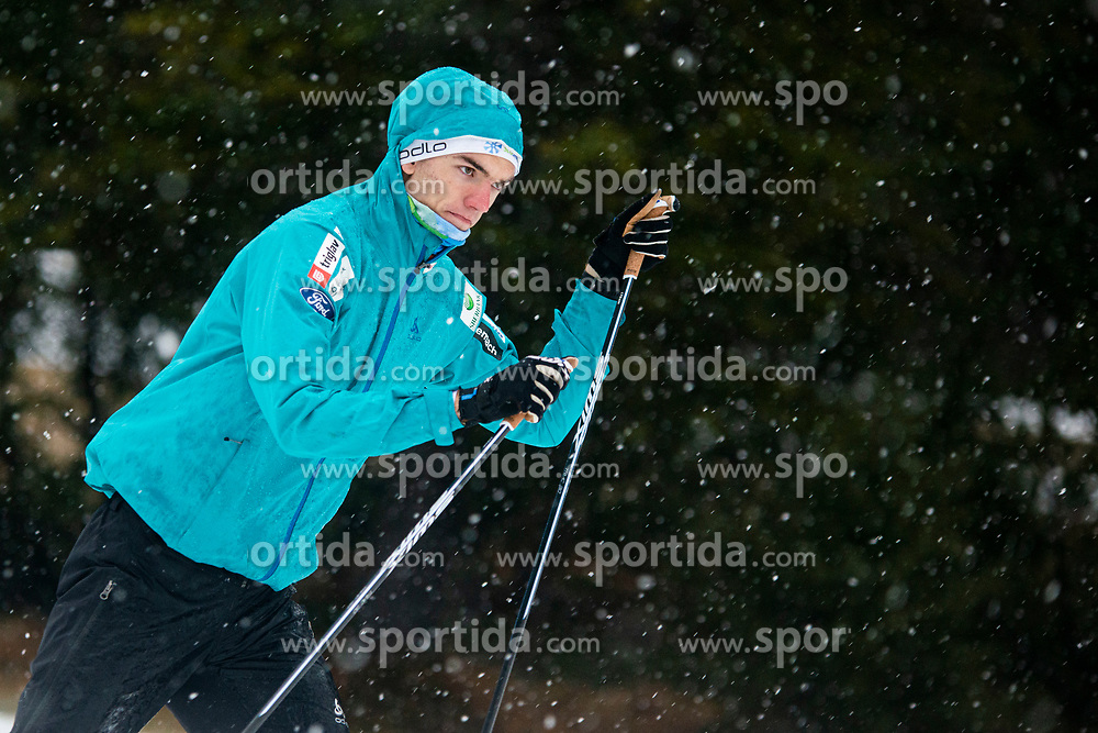 LAMPIC Janez (SLO) during the warm up before the man team sprint race at FIS Cross Country World Cup Planica 2019, on December 22, 2019 at Planica, Slovenia. Photo By Peter Podobnik / Sportida