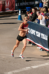 Colleen DeRueck, 48, in homestretch of women's marathon