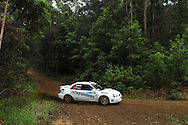 Eli Evans & Chris Murphy.Motorsport-Rally/2008 Coffs Coast Rally.Shakedown, Bucca Rd, .Coffs Harbour, NSW.14th of November 2008.(C) Joel Strickland Photographics