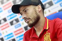 Spain's David Jimenez Silva in press conference before training session. October 5,2017.(ALTERPHOTOS/Acero)